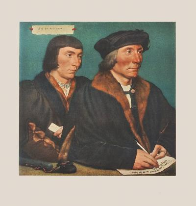 Sir Thomas Godsalve and his Son-Hans Holbein the Younger-Collectable Print