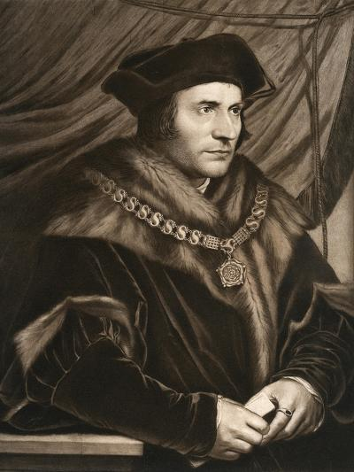 Sir Thomas More, 1527-Hans Holbein the Younger-Giclee Print