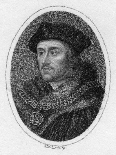 Sir Thomas More, 16th Century English Scholar, Statesman and Martyr, C1819- Holl-Giclee Print