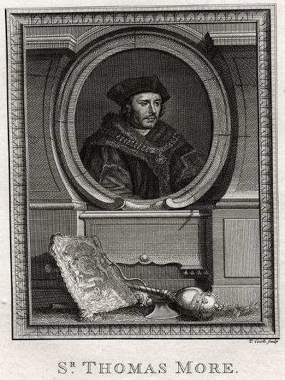 Sir Thomas More, 1774-T Cook-Giclee Print