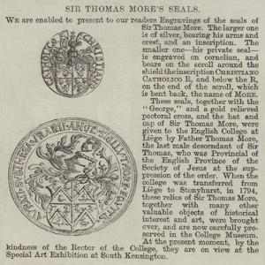 Sir Thomas More's Seals
