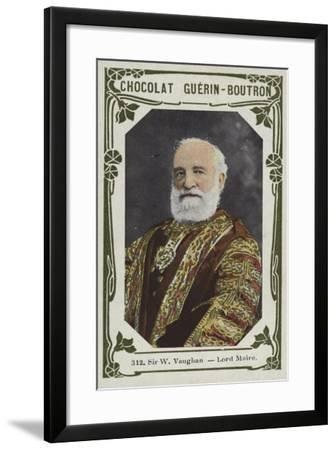 Sir W Vaughan, Lord Maire--Framed Giclee Print
