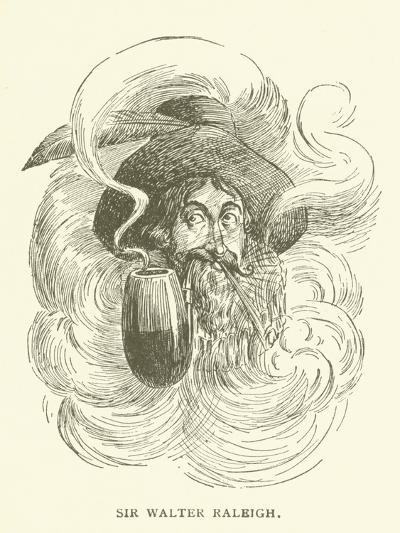 Sir Walter Raleigh--Giclee Print