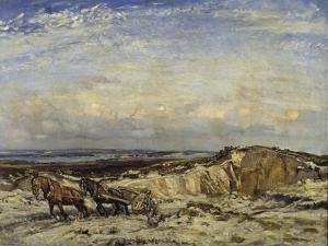 Carting Sand by Sir Walter Russell
