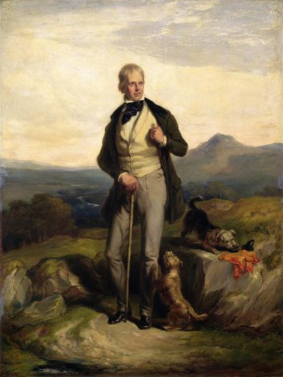 Sir Walter Scott (1771-1832)-Sir William Allan-Giclee Print