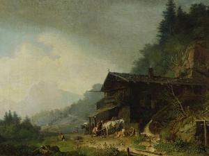 A Forge in the Bavarian Alps by Sir William Beechey