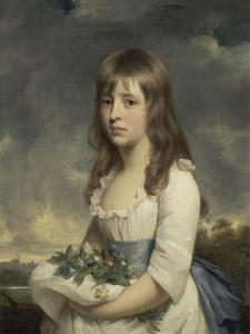 Portrait of a Girl, C.1790 by Sir William Beechey