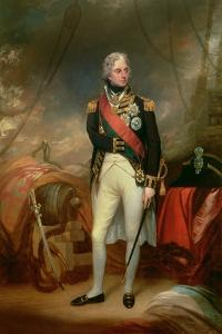 Portrait of Horatio, Viscount Nelson (1758-1805) 1801 by Sir William Beechey