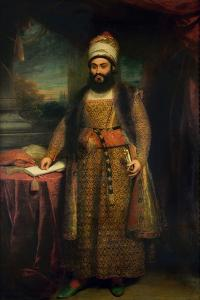 Portrait of Mirza Abul Hassan by Sir William Beechey