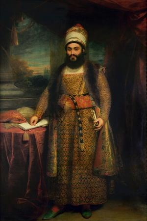 Portrait of Mirza Abul Hassan