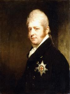 Portrait of Prince Adolphus Frederick by Sir William Beechey