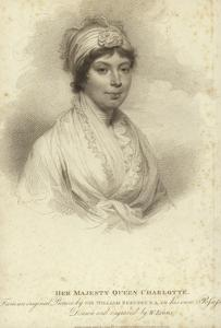 Portrait of Queen Charlotte by Sir William Beechey