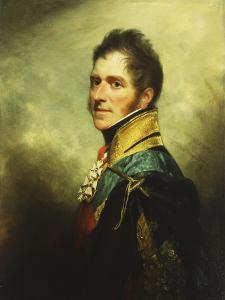 Portrait of William Henry Paget Marquess of Anglesey, Half Length by Sir William Beechey