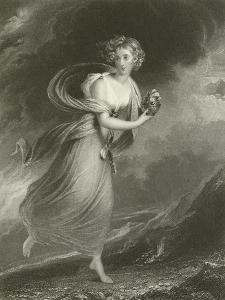 Psyche, Returning from the Realms of Pluto by Sir William Beechey