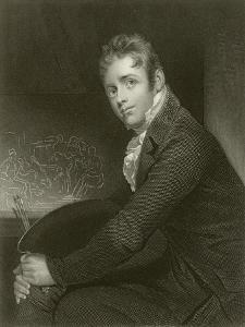 Sir David Wilkie by Sir William Beechey
