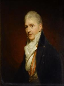 Sir Francis Bourgeois, Ra, C.1810 by Sir William Beechey
