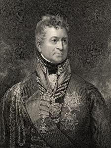 Sir Thomas Picton, Engraved by Peltro William Tomkins (1760-1840), from 'National Portrait… by Sir William Beechey