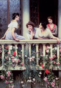 The Balcony, 1911 by Sir William Beechey