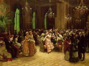 The Casino, Monte Carlo, 1884 by Sir William Beechey