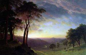 The Sacramento River Valley by Sir William Beechey