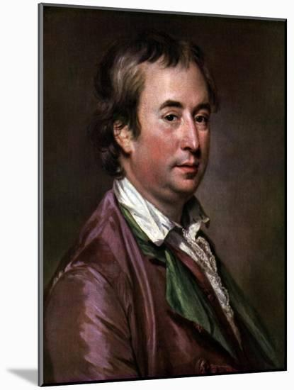 Sir William Chambers, British Architect, Artist, and Author, C1760s-Francis Cotes-Mounted Giclee Print