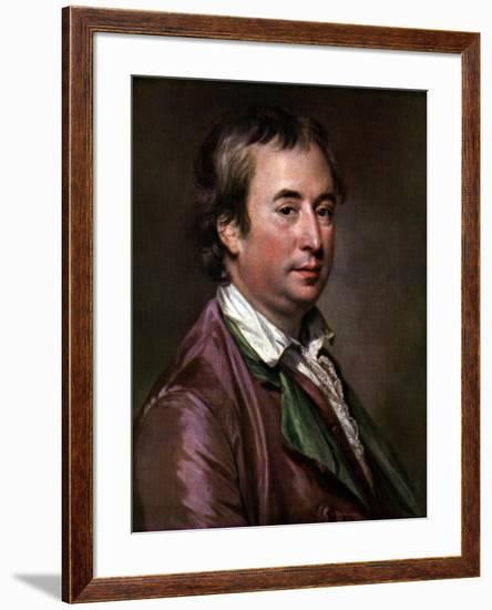 Sir William Chambers, British Architect, Artist, and Author, C1760s-Francis Cotes-Framed Giclee Print