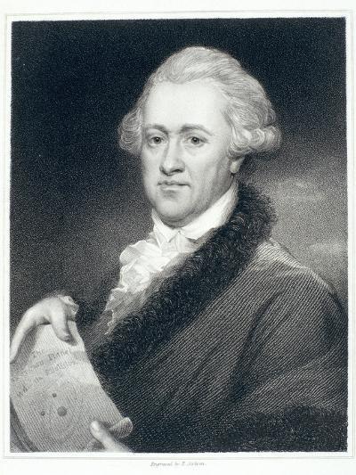 Sir William Herschel, Astronomer, 1790S-John Russell-Giclee Print