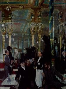 Cafe Royal, London, 1912 by Sir William Orpen