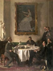Homage to Manet, 1909 by Sir William Orpen
