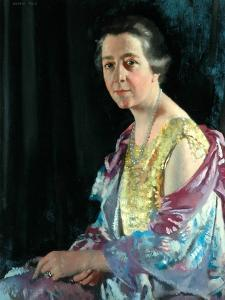 Mrs Thomas Howarth, 1926 by Sir William Orpen