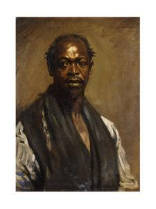 Portrait of a Negro by Sir William Orpen
