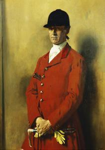 Portrait of Captain Marshall Roberts, Master of the Fox Hounds by Sir William		 Orpen