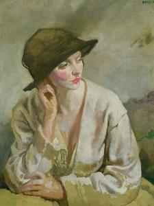 Portrait of Miss Sinclair by Sir William Orpen