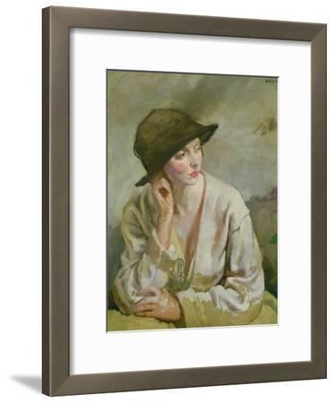 Portrait of Miss Sinclair