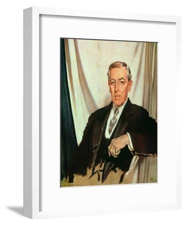 Portrait of Woodrow Wilson (1856-1924) c.1919