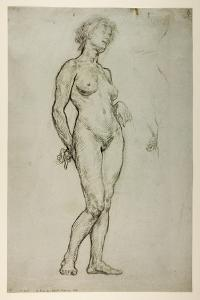 Study of a Female Figure, 1898 by Sir William Orpen