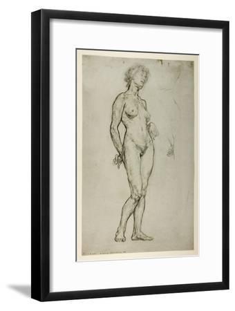 Study of a Female Figure, 1898