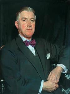 T. Howarth, Jp, 1925 by Sir William Orpen