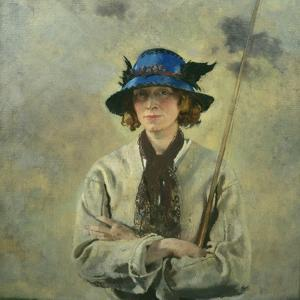 The Angler by Sir William Orpen
