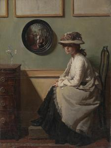 The Mirror by Sir William Orpen