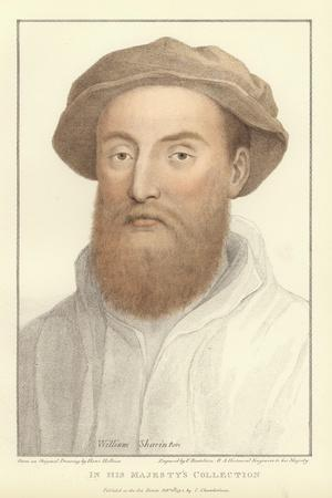 Sir William Sharington-Hans Holbein the Younger-Giclee Print