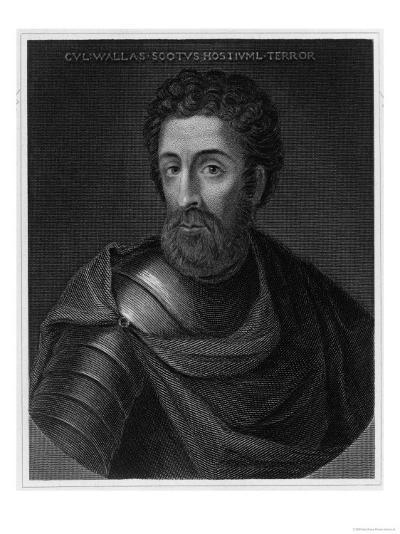 Sir William Wallace Scottish Patriot--Giclee Print