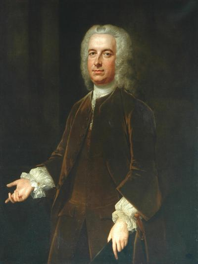 Sir William Wentworth-Willem Verelst-Giclee Print