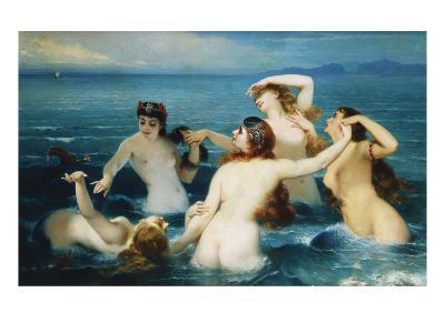 Sirens; Syrenes-Charles Edouard Boutibonne-Giclee Print