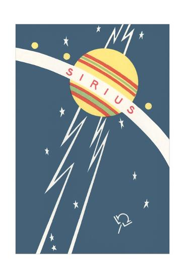 Sirius and Planet--Giclee Print