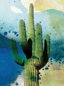 Cactus Abstract by Sisa Jasper