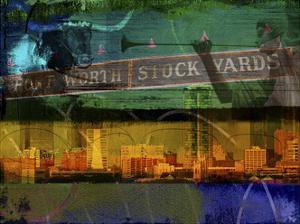Ft. Worth Collage by Sisa Jasper