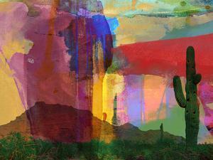 Mesa Abstract by Sisa Jasper