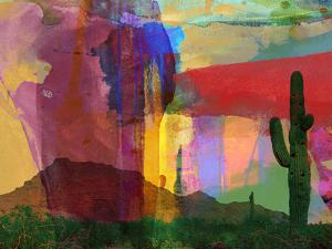 Mesa Abstract by Sisa Jasper