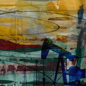 Oil Rig Abstract by Sisa Jasper